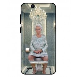 ZTE Tempo Go Her Majesty Queen Elizabeth On The Toilet Cover