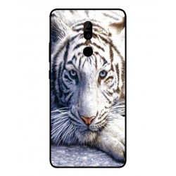 Funda Protectora 'White Tiger' Para Nokia 7 Plus