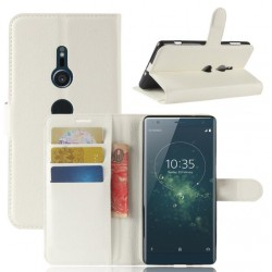 Sony Xperia XA2 White Wallet Case