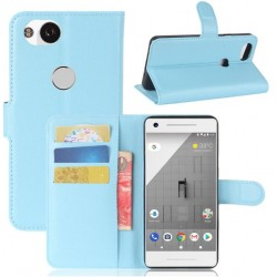 Google Pixel 2 XL Blue Wallet Case