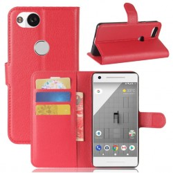 Google Pixel 2 XL Red Wallet Case