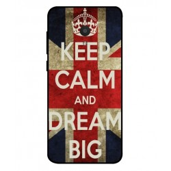 Keep Calm And Dream Big Hülle Für Alcatel 1x