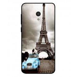 Alcatel 1x Vintage Eiffel Tower Case