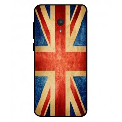 Funda Vintage UK Para Alcatel 1x