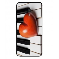 Funda I Love Piano Para Alcatel 1x