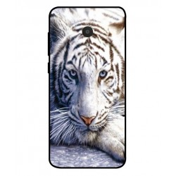 Alcatel 1x White Tiger Cover