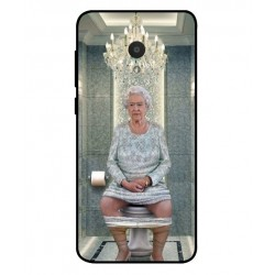 Alcatel 1x Her Majesty Queen Elizabeth On The Toilet Cover