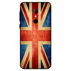 Funda Vintage UK Para Alcatel 3