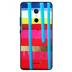 Alcatel 3c Brushstrokes Cover
