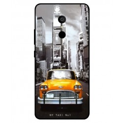 Carcasa New York Taxi Para Alcatel 3c