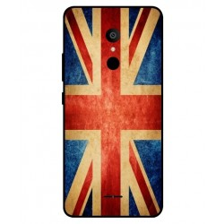 Funda Vintage UK Para Alcatel 3c