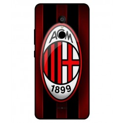 Alcatel 3c AC Milan Cover