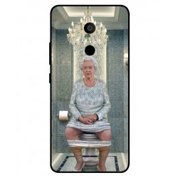 Alcatel 3c Her Majesty Queen Elizabeth On The Toilet Cover