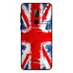 Alcatel 3x UK Brush Cover
