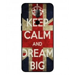 Carcasa Keep Calm And Dream Big Para Alcatel 3x