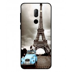 Alcatel 3x Vintage Eiffel Tower Case