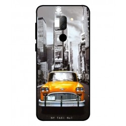 Alcatel 3x New York Taxi Cover