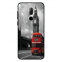 Alcatel 3x London Style Cover
