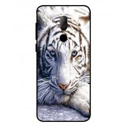 Funda Protectora 'White Tiger' Para Alcatel 3x