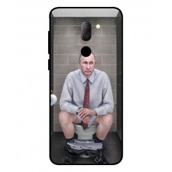 Alcatel 3x Vladimir Putin On The Toilet Cover