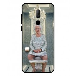 Alcatel 3x Her Majesty Queen Elizabeth On The Toilet Cover