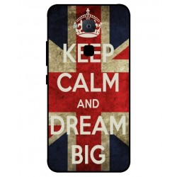 Carcasa Keep Calm And Dream Big Para BQ Aquaris VS