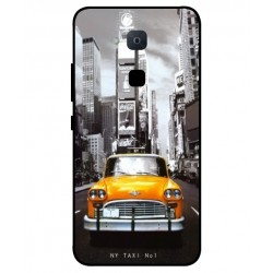 Coque New York Taxi Pour BQ Aquaris VS