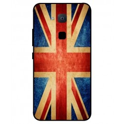 Funda Vintage UK Para BQ Aquaris VS