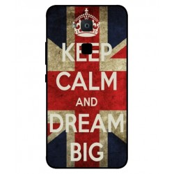 Keep Calm And Dream Big Hülle Für BQ Aquaris VS Plus