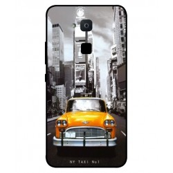 Coque New York Taxi Pour BQ Aquaris VS Plus