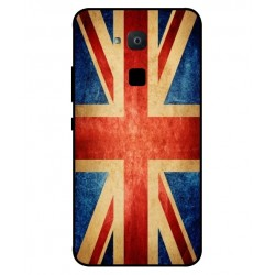 Coque Vintage UK Pour BQ Aquaris VS Plus