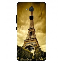 Coque Protection Tour Eiffel Pour BQ Aquaris VS Plus