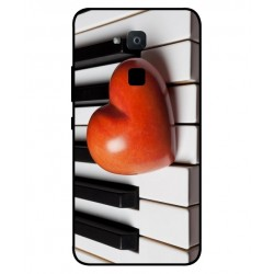 Coque I Love Piano pour BQ Aquaris VS Plus