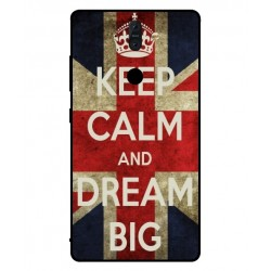 Nokia 8 Sirocco Keep Calm And Dream Big Cover