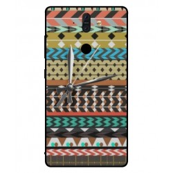 Nokia 8 Sirocco Mexican Embroidery With Clock Cover