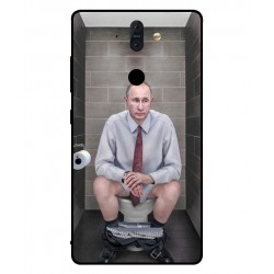 Nokia 8 Sirocco Vladimir Putin On The Toilet Cover