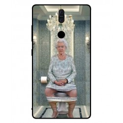 Nokia 8 Sirocco Her Majesty Queen Elizabeth On The Toilet Cover