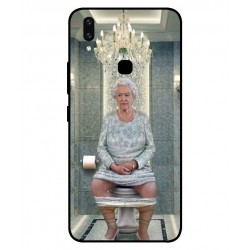 Vivo V9 Her Majesty Queen Elizabeth On The Toilet Cover