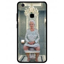 Vivo V7 Her Majesty Queen Elizabeth On The Toilet Cover