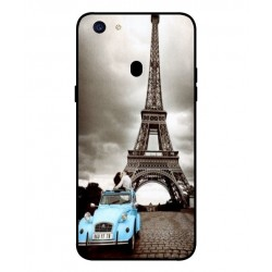 Oppo F5 Youth Vintage Eiffel Tower Case