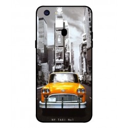 Coque New York Taxi Pour Oppo F5 Youth