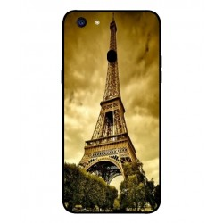 Coque Protection Tour Eiffel Pour Oppo F5 Youth