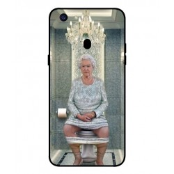 Oppo F5 Youth Her Majesty Queen Elizabeth On The Toilet Cover