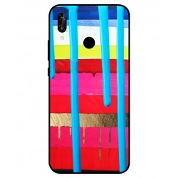 Huawei P20 Lite Brushstrokes Cover