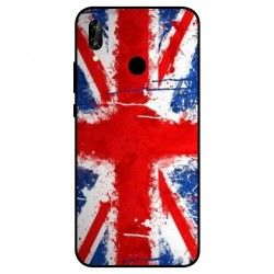 Coque UK Brush Pour Huawei P20 Lite