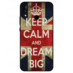 Coque Keep Calm And Dream Big Pour Huawei P20 Lite