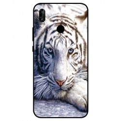 Huawei P20 Lite White Tiger Cover