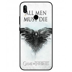 Funda All Men Must Die Para Huawei P20 Lite