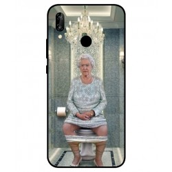 Huawei P20 Lite Her Majesty Queen Elizabeth On The Toilet Cover