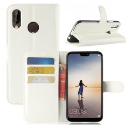 Huawei P20 White Wallet Case